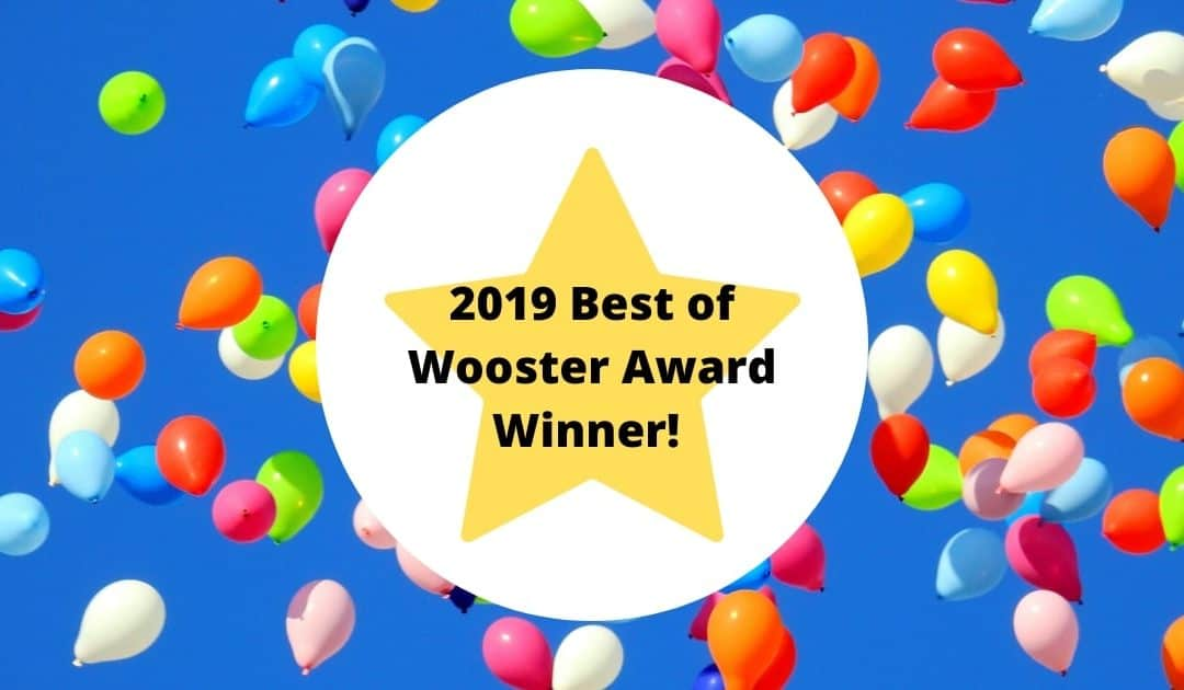 2019 Best of Wooster Awards Winner graphic